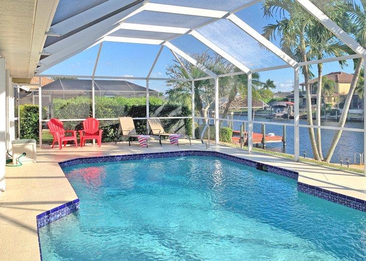 CapeCoralSusan - Villa Chiquita - Pool - Canal - Southern Exposure #1