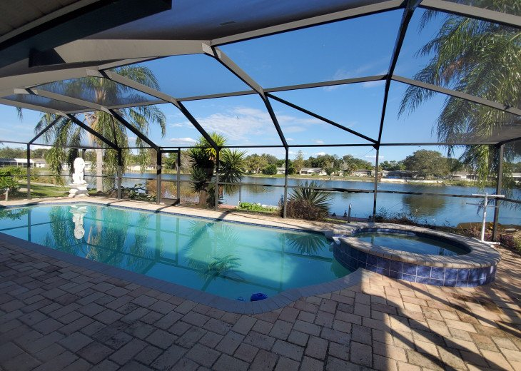 Tropical Waterfront HEATED Pool/SPA Home by Beach #1