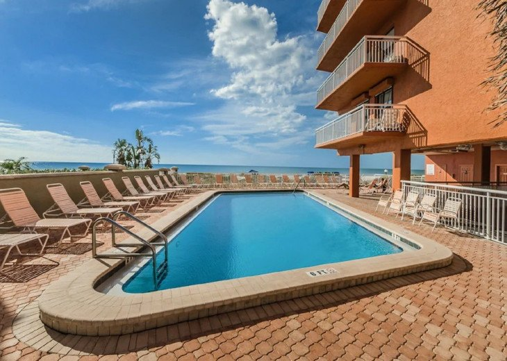 Very clean and freshly remodeled one bedroom condo to enjoy the beautiful Gulf #1