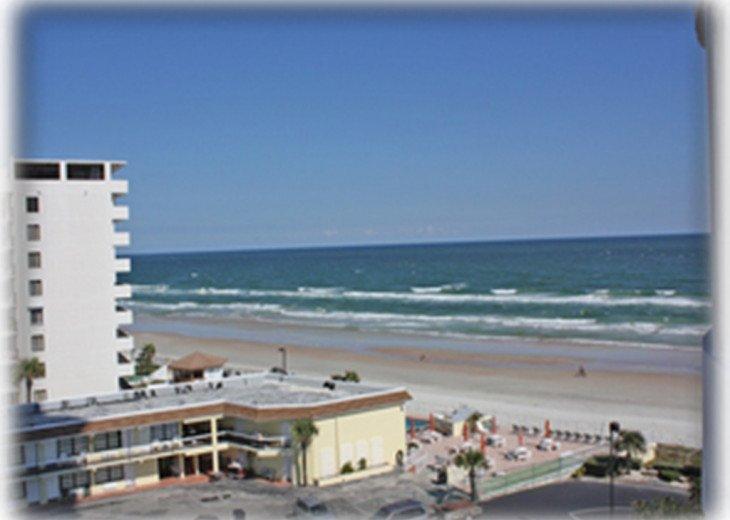 SAND N' SURF - Daytona Ocean View Condo - Peck Plaza 6 NW #1