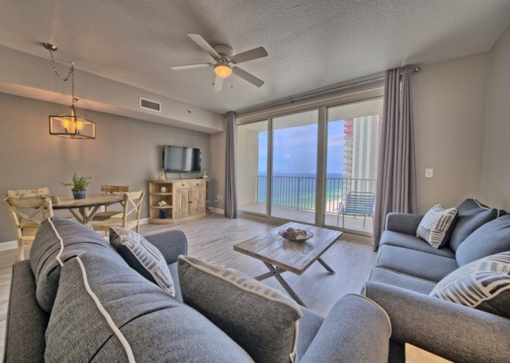 Shores of Panama 1527~Gulf Front Condo~Best Sunset Views! #1