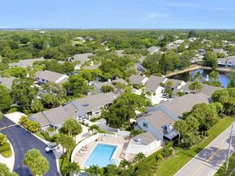 Townhome with drive in garage and pool access