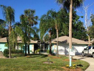 WATERFRONT charming RioVistaHome +heated Pool - tropical Garden -