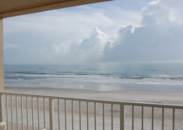 Ponce Inlet Oceanfront with Private Balcony, No-Drive Beach, Newly Renovated #1