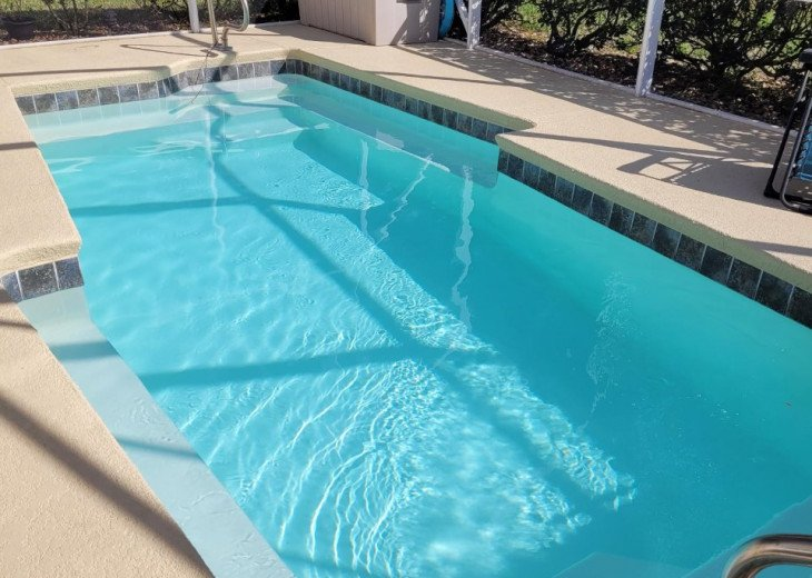 Beautiful private heated pool. New heater in 2021!