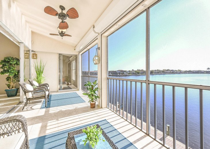 Huge Lanai w/ Stunning Waterfront And Incredible Privacy