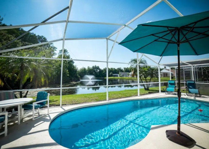 COZY FAMILY HOME POOL AND LAKE VIEW, 5 MILES DISNEY #1