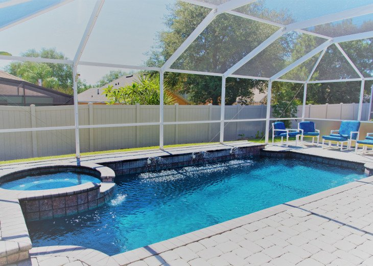 Executive Disney Pool/Spa Villa with Outdoor Kitchen #1