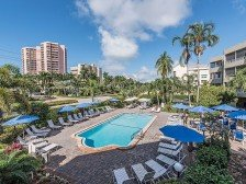 Condo steps from the beach w/ parking & heated pool -AWESOME DEAL #1