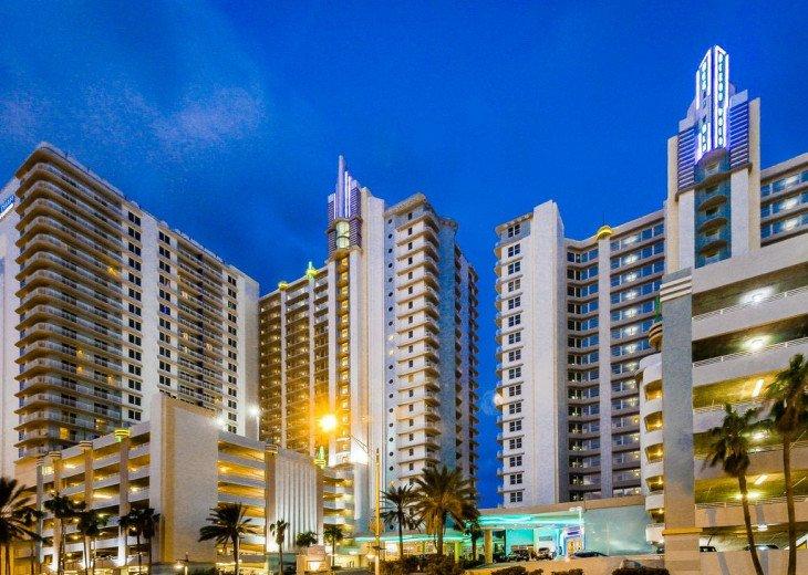 Ocean Front,at Ocean Walk Resort One Bedroom suite #1