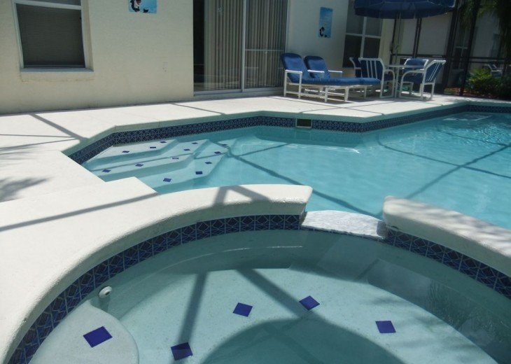 Your own private pool and spa