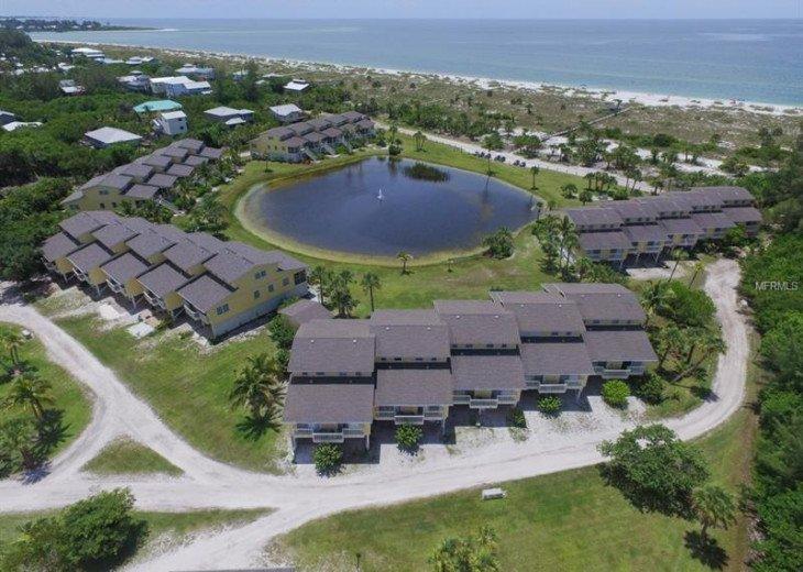 Hideaway Bay Beach Club on Little Gasparilla Island, Florida.