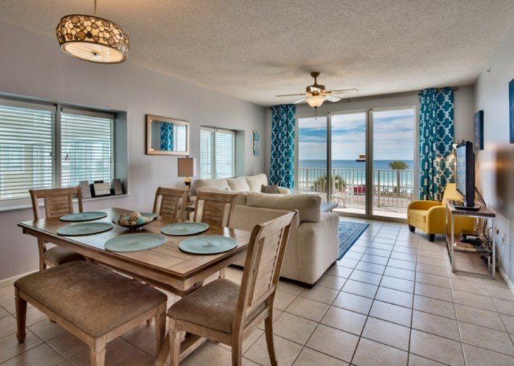 RENTING FALL Oceanfront Beachfront 3 bed 3 Ba Condo Majestic Sun B201, Mirama #1