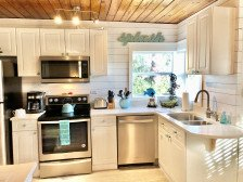 COTTAGE 30 Feet to the Beach! 2Br w/ Bunks - NEW Kitchen! #1