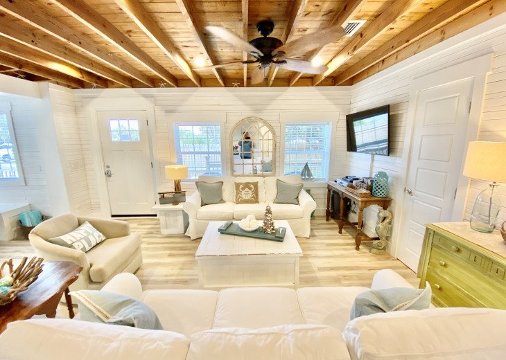Cottage Charm... Authentic Old Florida Cottage with RECENT FULL RENOVATION...