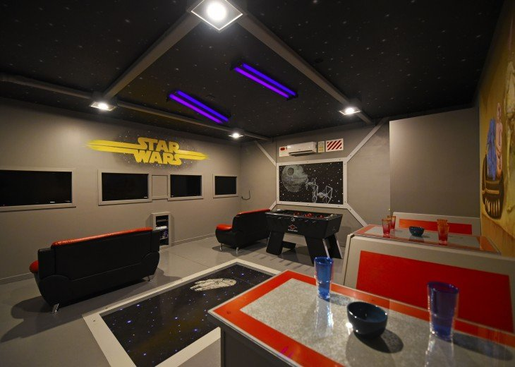 STAR WARS game room! 7 bedroom 4.5 bath Watersong pool house - WR844 #1