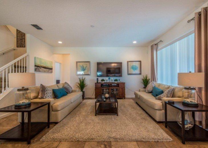 LAZY RIVER! 6 bedroom 5Bth Solterra pool home - SR4164 #1
