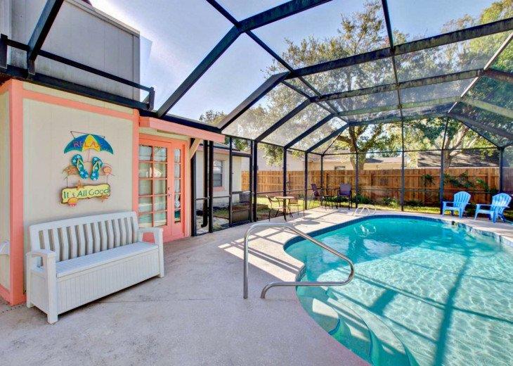 Cover pool deck. UV protecting Sun Screen