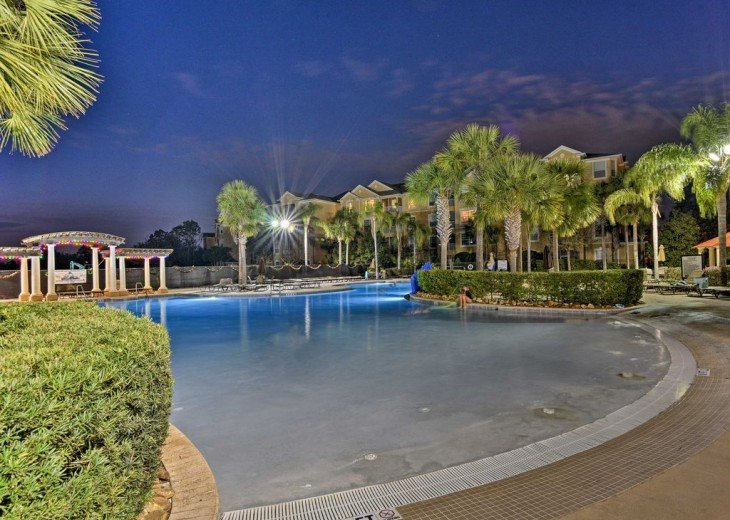 South facing heated pool and spa #1