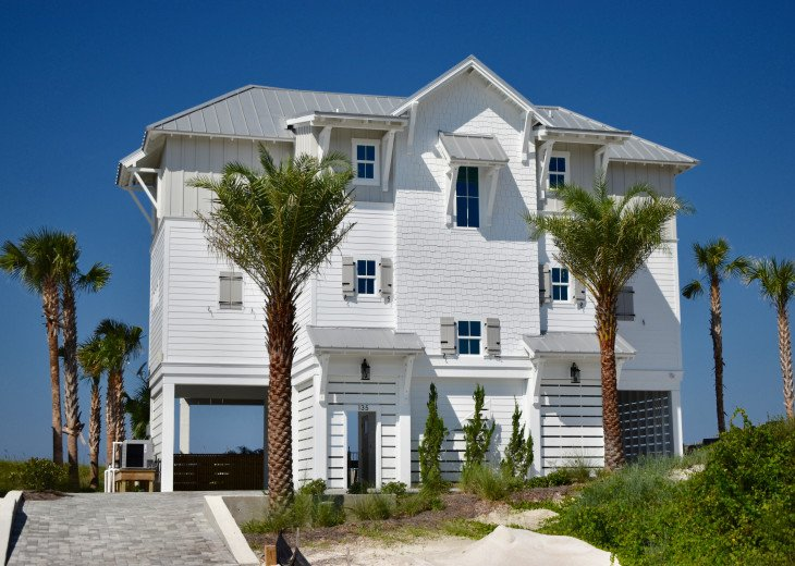 New Luxury Gulf Front Home, Private Heated Pool, Elevator, Beautiful #1