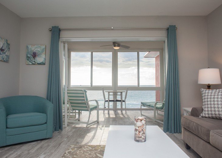 BEAUTIFUL OCEAN FRONT VIEW! COMPLETELY RENOVATED WITH MODERN BEACH DECOR! #1