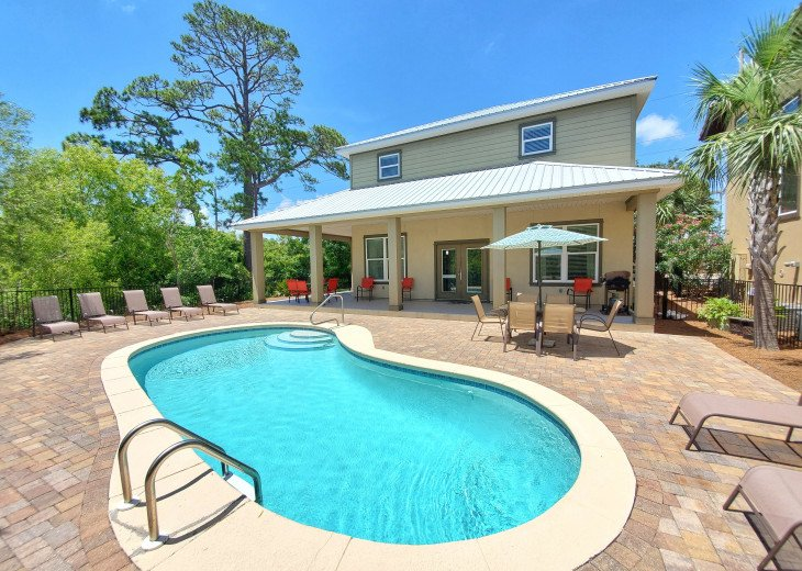 Secluded & Quiet Home! Private Pool & Golf Cart Included! 5 Min. to Beach #1