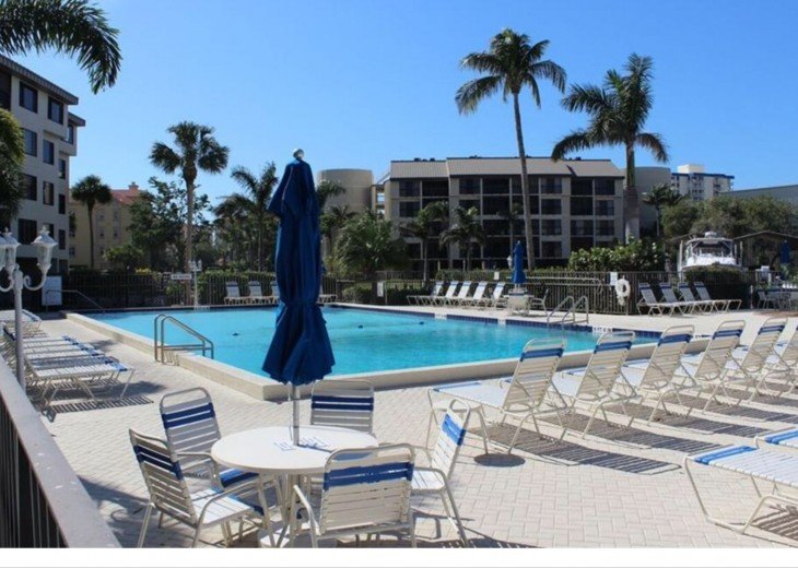 Biggest pool on Fort Myers Beach