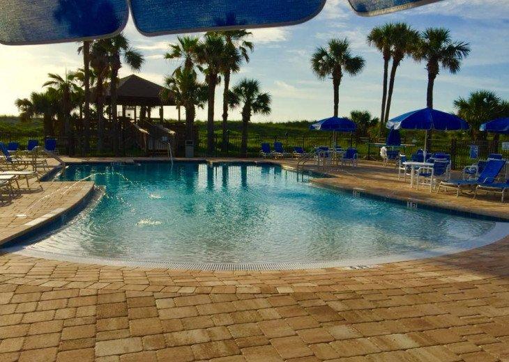 Our Beachfront Pool, Ocean Villas, St Augustine Beach.
