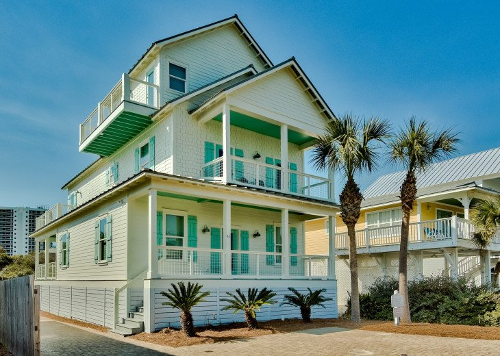 7 bedroom 6 bathroom GULF VIEW PRIVATE DEEDED BEACH ACCESS! Free Golf Cart #1