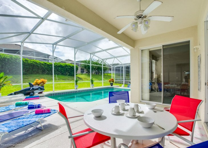 30% OFF SALE ALL-INCLUSIVE HOME NEAR DISNEY POOL, GRILL, GOLF SLEEPS 7 #1