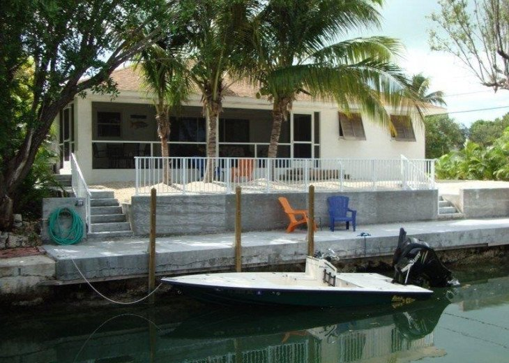 Cudjoe Gardens Oceanside, Deep Water Canal, Pool Home. #1