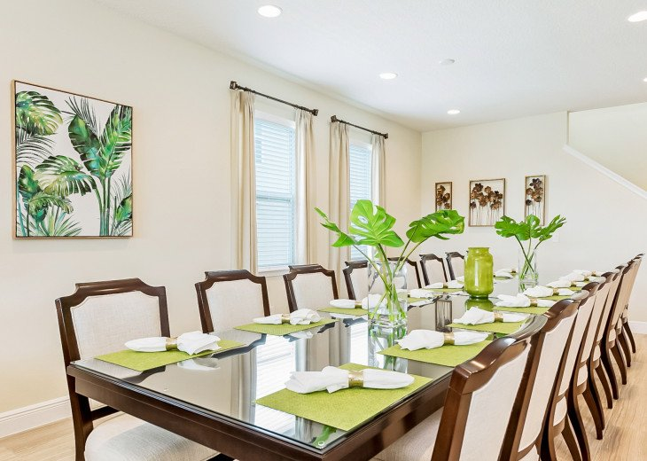 12 Seat Formal dinning table