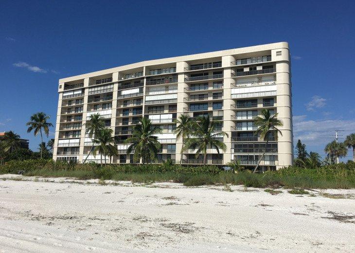 Beautiful 11 story Ambassador condo building on Bonita Beach