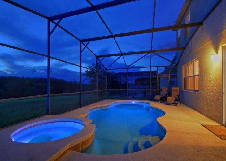 Luxury 8BR MOVIE THEATER-W/Solar Heated Oversize Pool/Spa/Near Disney/forestView #1