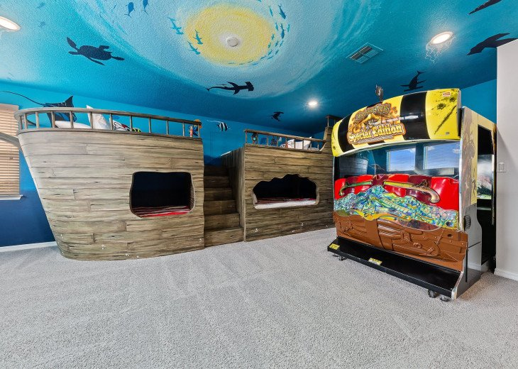 Solara Luxury | Amazing Pirate Ship & Surf Van Custom Bunk Beds, #1