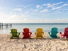 Islamorada Luxurious Private Sandy Beach Access Tiki Huts Hammocks Kayaks #1