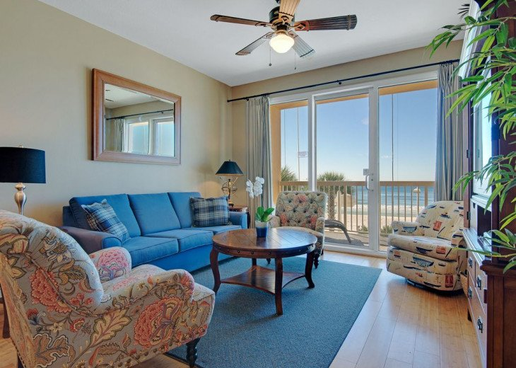 2nd Floor, GORGEOUS GULFFRONT, wood floors, New TVs/Beds, , 1King, 3Full, 1Twin, #1