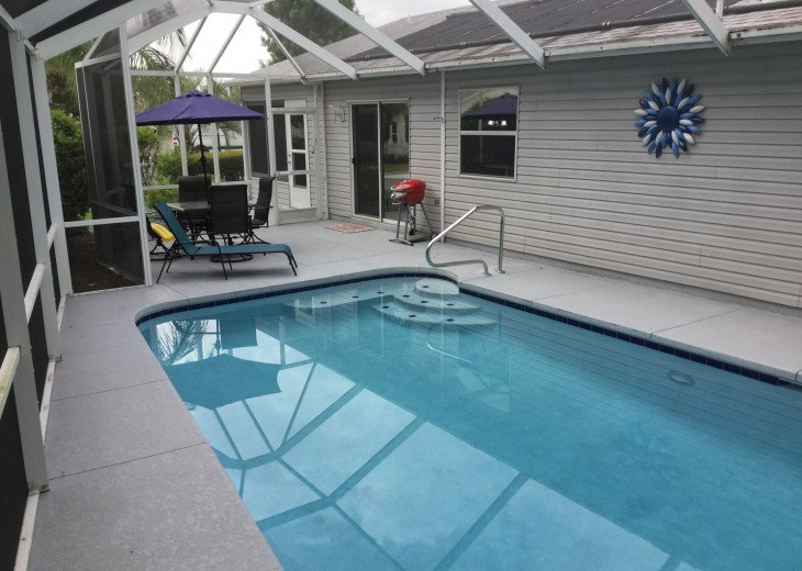 Electrically Heated Pool & Bird Cage