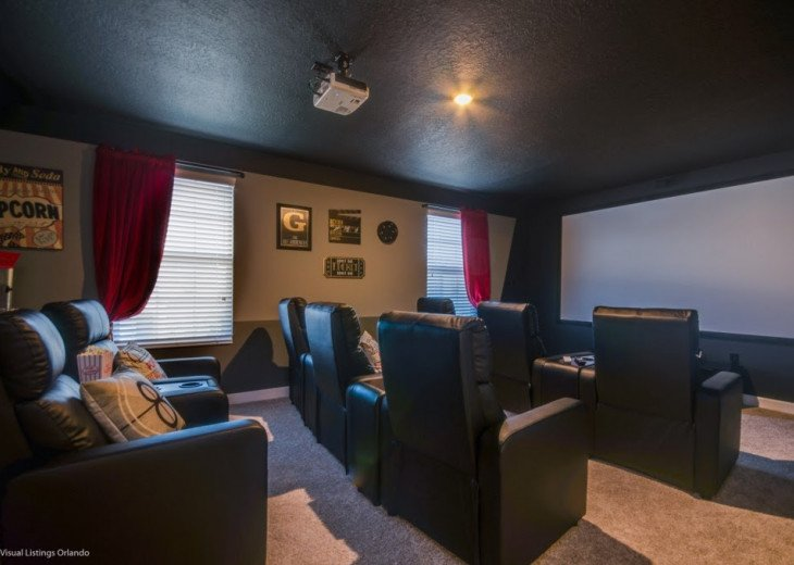 Stunning 8BD 5BA Champions Gate. Cinema Room. Game Room. Pool/Spa #1