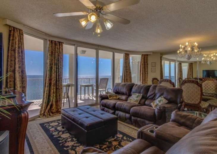 Luxuriously Furnished 3+3 Condo 2 Ocean Front Balconies with Breathtaking Views #1