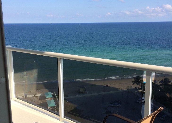 Hollywood Beach ocean front ocean view 2 bedroom condo #1