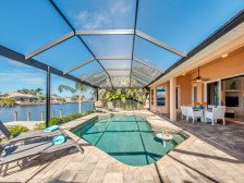 CapeCoralRentalHouses-House 11 - Sunset Cove #1