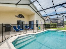 25% OFF! 10 MIN TO DISNEY! SUPER CLEAN GATED HOME, GRILL,HEATED POOL GAME ROOM #1