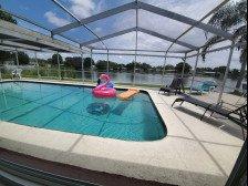 Near Beach Luxury Private Waterfront Heated Pool Home Sleeps 12 #1