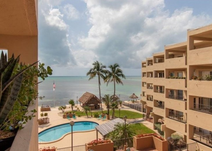 PALMS #404 - 2 Bedroom Condo with Ocean, Pool, and Tropical Views #1
