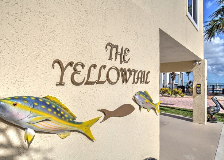 Drive all the way to the water to find the YellowTail Villa!
