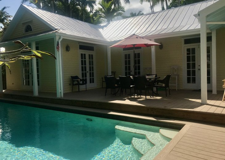 Key West Old Town Sanctuary- Huge Private Pool- Quiet Lane- Monthly Rental #1