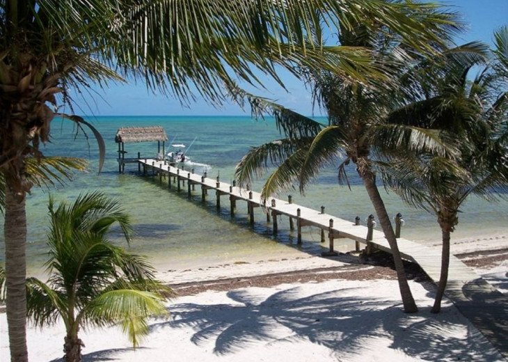 Best location in the Keys, 150-foot dock, coconut palms on the beautiful beach. #1