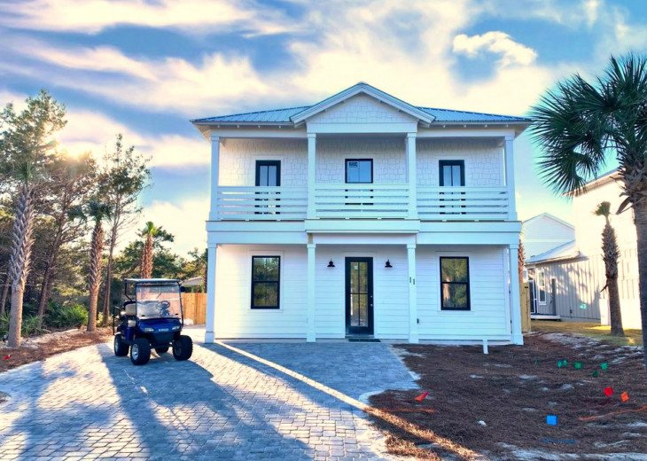 NEW HOME w Private Heated Pool, Private Beach Access, Free Golf Cart/Paddleboard #1