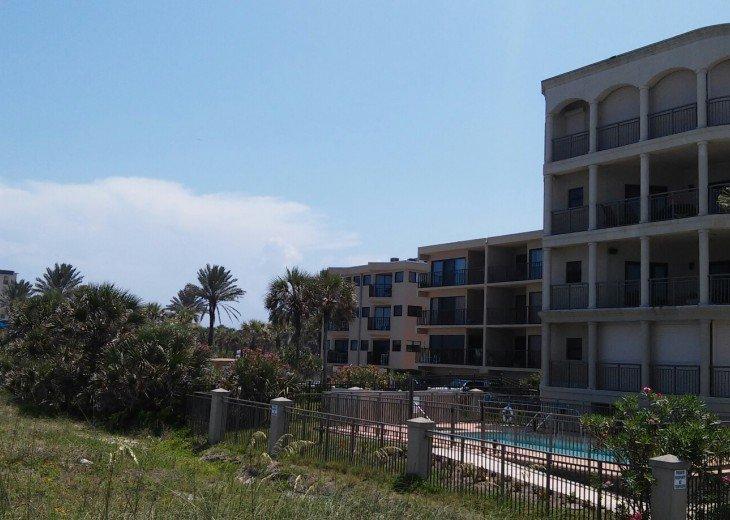 Beachcomber view from dunes